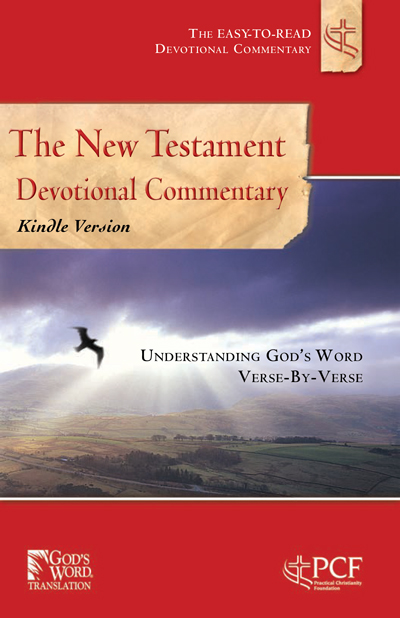 The New Testament Devotional Commentary Cover